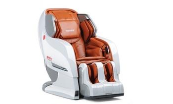 Массажное кресло Yamaguchi Axiom YA-6000 бело-рыжий