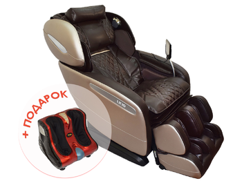 Массажное кресло Uno Grande UN-624 коричневый
