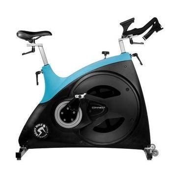 Сайкл-тренажер Body Bike Connect (светло-синий)