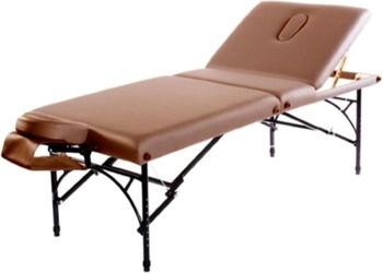 Складной массажный стол Vision Apollo Deluxe коричневый