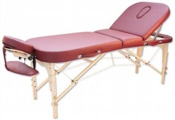 Складной массажный стол Vision Apollo xform бордо