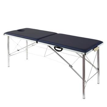 Складной массажный стол Heliox T185 синий
