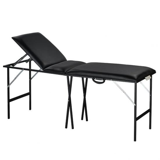 Складной трехсекционный стол для тату