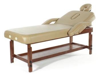 Стационарный массажный стол деревянный Med-Mos FIX-1A МСТ-7Л